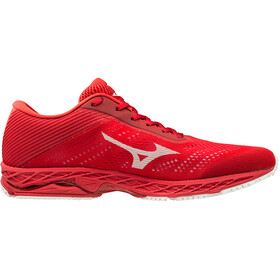 Mizuno Wave Shadow 3 Zapatillas Running Hombre, high risk red/white